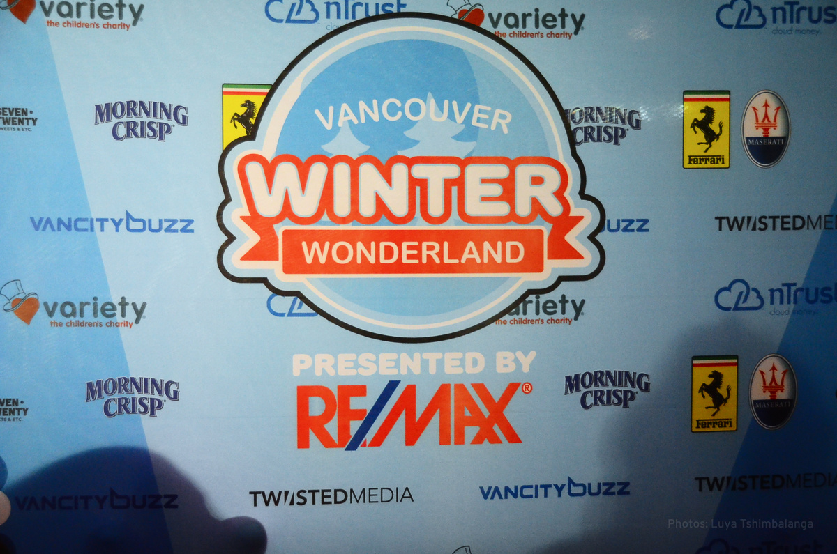 Vancouver Winter Wonderland and sponsors
